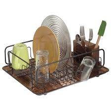 Bed Bath And Beyond Dish Rack Amazon Com Interdesign Forma Kitchen Dish Drying Rack With Tray