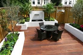 Deck And Patio Ideas For Small Backyards by Contemporary Garden Designs Decking Outdoor Contemporary Wooden