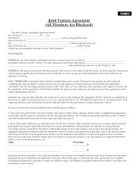 Post Marital Agreement Template Awesome Free Sample Joint Venture Agreement Template Pictures