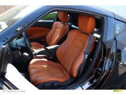 Nissan Z370 Interior Persimmon Leather Interior 2010 Nissan 370z Sport Touring Coupe