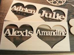 un cadeau de mariage cadeau en bois personnalisé l habis