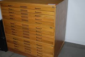 Wood Filing Cabinet Plans by Flat File Cabinet Seattle Best Home Furniture Decoration