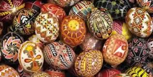 ukrainian decorated eggs babasbeeswax pysanky