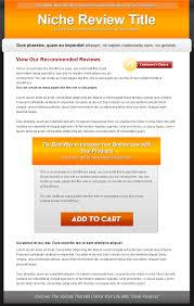 informational website templates single product review website templates mrr private label rights