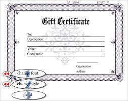 sample certificate templates u2013 22 free word pdf documents