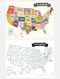 us map printable printable map of the usa mr printables