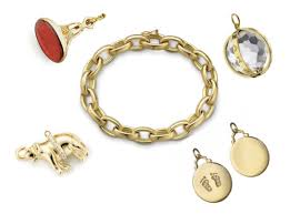 gold charm link bracelet images The wife guide charm bracelets taryn cox the wife png
