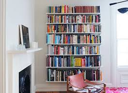 diy wall mounted bookshelves ideas for make wall mounted