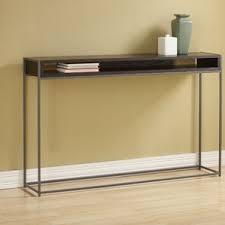 wood and metal sofa table metal console u0026 sofa tables you u0027ll love wayfair