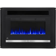 napoleon alanis 54 inch electric fireplace black nefp42 1815b