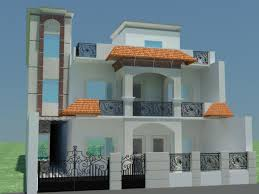 Home Design For Ground Floor by Design Showing Ground Floor First Floor And Boundary Wall Gharexpert