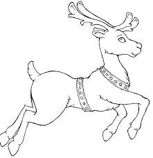 coloring book reindeer printable u2013 merry christmas u0026 happy