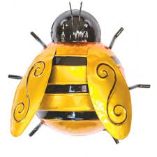 metal wall bumble bee small by fountasia other ornaments
