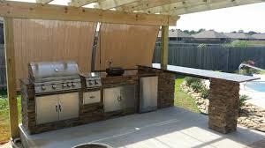 outdoor kitchen countertop ideas outdoor kitchen doors lightandwiregallery with regard to design