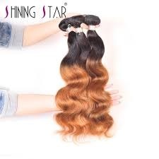 Two Tone Ombre Hair Extensions by Weave Art Picture More Detailed Picture About T1b 27 30