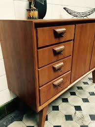 Wohnzimmerschrank 70er Jahre 50er Jahre Kommode Carprola For