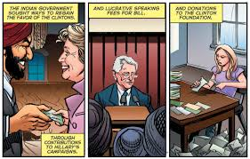 comic book shelves clinton cash graphic novel hits store shelves