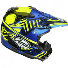 motocross helmets arai mxv helmet star yellow dirtbikexpress