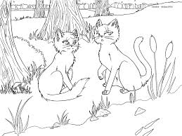 warrior cats coloring pages sad warrior cat coloring pages coloringsuite com