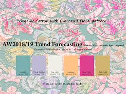 color forecast autumn winter 2018 2019 trend forecasting is a trend color guide
