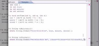 video format converter java how to convert military time to standard time for java java