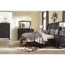 Signature Design Beds Greensburg B King Sleigh Storage Bed - Ashley furniture homestore bedroom sets