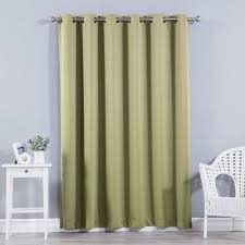 Extra Wide Thermal Curtains Best Home Fashion Inc Extra Wide Width Blackout Thermal Single