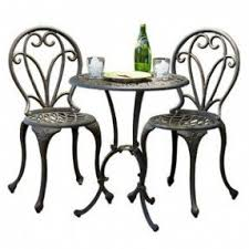 Metal Garden Chairs And Table Cast Iron Patio Furniture Sets Foter