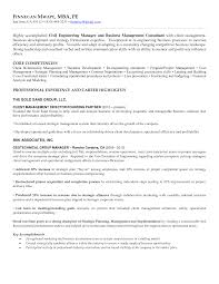 Sample Marketing Consultant Resume Management Consulting Cover Letter Samples Emergency Response