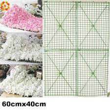 wedding arches supplies online cheap 60x40cm large size plastic flower row flowers bent
