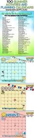 summertime activities and free planning calendars inkhappi