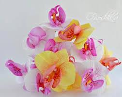 Orchid Bouquet Orchid Bouquet Etsy