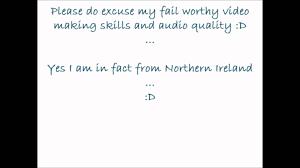 Accent Meme - accent meme northern irish anyone youtube