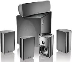 Technology Home by Definitive Technology Procinema 600 Black Home Theater Speaker