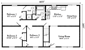 ranch floorplans ranch style one house plans culliganabrahamarchitecture com