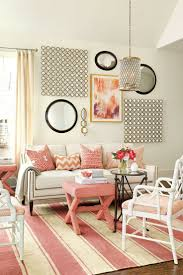 77 best coral images on pinterest coral ballard designs and living room with coral color palette