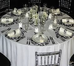 black and white table settings awesome black and white table settings contemporary best ideas