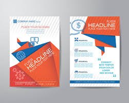flyer graphic design layout abstract triangle brochure flyer design layout template in a4 si