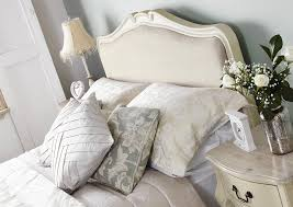 Shabby Chic Bed Linen Uk by Shabby Chic Champagne Upholstered King Size Bed