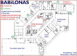 shopping center floor plan file shopping mall babilonas layout png wikipedia