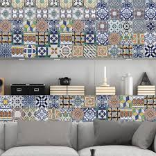 Tile Decals For Kitchen Backsplash by Online Store Portuguese Tiles Stickers Amadora Pack Of 36
