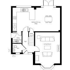 Althorp House Floor Plan New Detached Home In Evesham Worcestershire From Bellway Homes