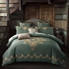Royal Bedding Sets 60segyptian Cotton Tribute Silk Luxury Royal Bedding Set 4 King