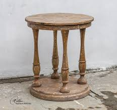 Wood Round End Table Diy Round End Table Ideas