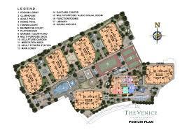 Podium Floor Plan by The Venice Luxury Residences Megaworldluxuryresidences