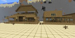 Mpce Maps Minecraft Pe Western Town Mapa Mcpe Maps Minecraft Pocket