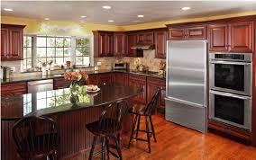 what color granite looks best with cherry cabinets what granite countertop color looks best with cherry cabinets