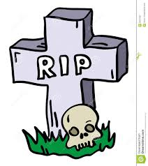 graveyard clipart doodle tombstone with skull royalty free stock photography image