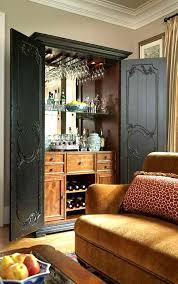 Built In Bar Cabinets Best 25 Bar Cabinets Ideas On Pinterest Wet Bar Cabinets Built