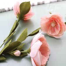 crepe paper flowers heirloom crepe paper flower roses diy aimee ferre